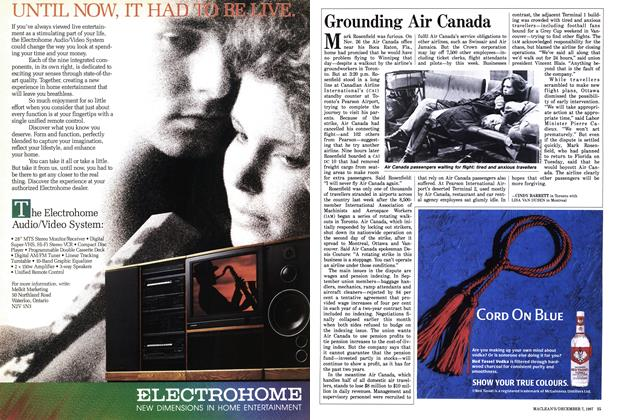 Article Preview: Grounding Air Canada, December 1987 | Maclean's
