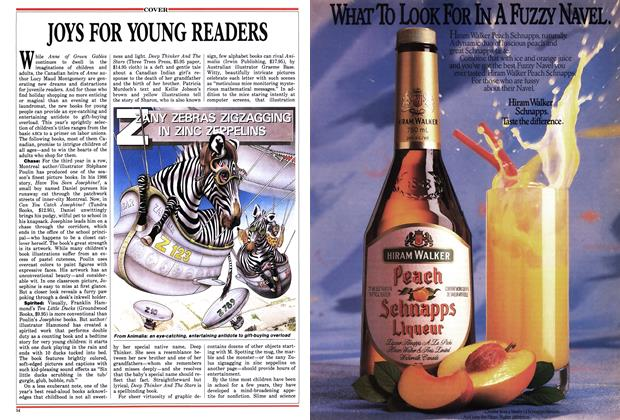 Article Preview: JOYS FOR YOUNG READERS, December 1987 | Maclean's