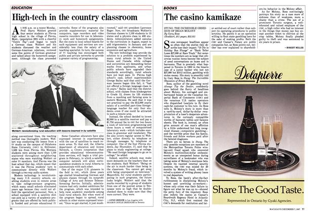 Article Preview: High-tech in the country classroom, December 1987 | Maclean's