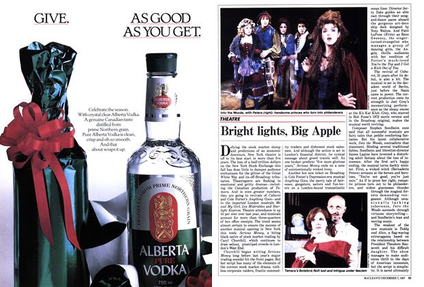 Article Preview: Bright lights, Big Apple, December 1987 | Maclean's