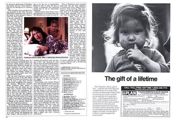 Article Preview: MACLEAN'S BEST SELLER LIST, December 1987   Maclean's