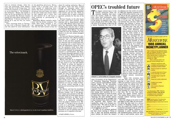 Article Preview: OPEC's troubled future, December 1987 | Maclean's