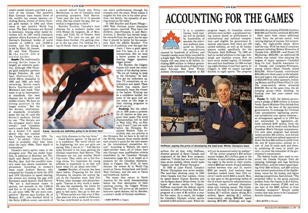 Article Preview: ACCOUNTING FOR THE GAMES, December 1987 | Maclean's
