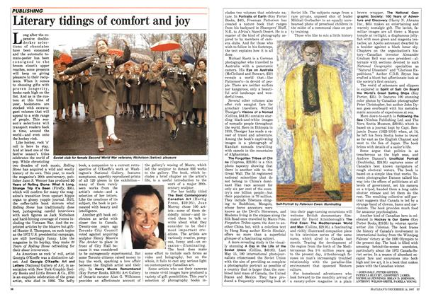Article Preview: Literary tidings of comfort and joy, December 1987 | Maclean's