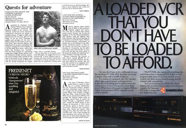 Article Preview: Quests for adventure, December 1987 | Maclean's