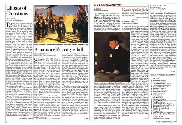 Article Preview: MACLEAN'S BEST-SELLER LIST, December 1987 | Maclean's