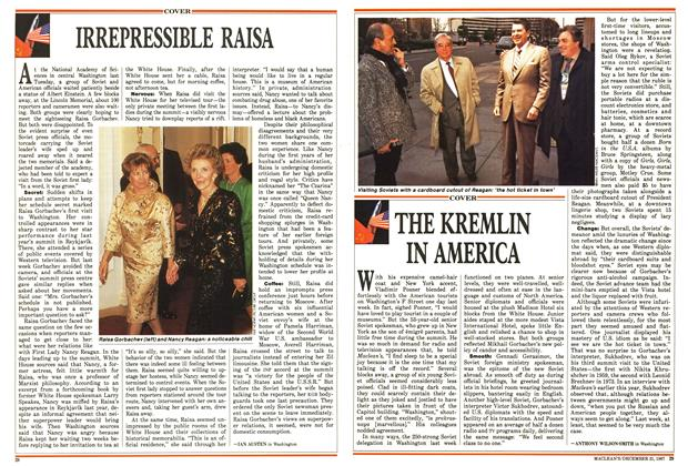 Article Preview: IRREPRESSIBLE RAISA, December 1987 | Maclean's