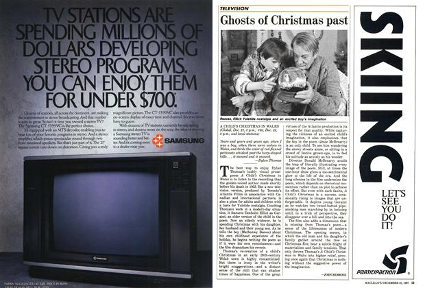 Article Preview: Ghosts of Christmas past, December 1987 | Maclean's