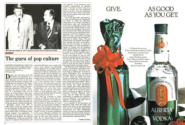 Article Preview: The guru of pop culture, December 1987 | Maclean's