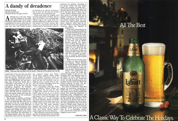Article Preview: A dandy of decadence, December 1987 | Maclean's