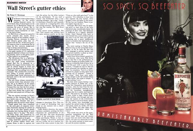Article Preview: Wall Street's gutter ethics, December 1987 | Maclean's