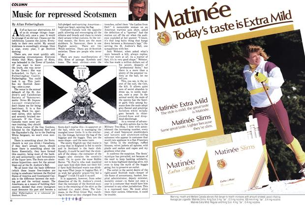 Article Preview: Music for repressed Scotsmen, December 1987 | Maclean's