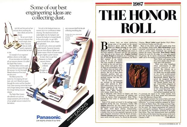 Article Preview: 1987 THE HONOR ROLL, December 1987 | Maclean's