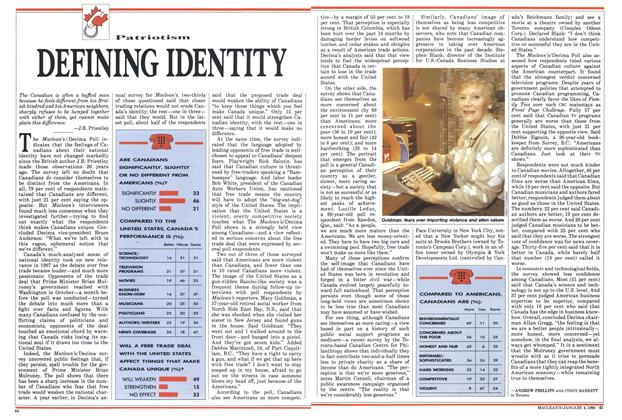 Article Preview: DEFINING IDENTITY, January 1988 | Maclean's