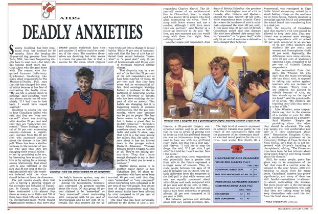 Article Preview: DEADLY ANXIETIES, January 1988 | Maclean's