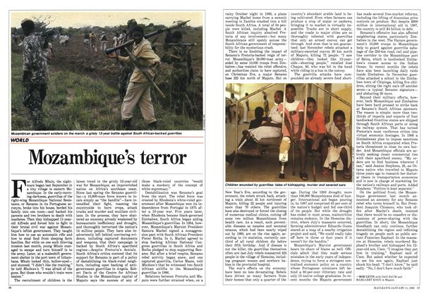 Article Preview: Mozambique's terror, January 1988 | Maclean's