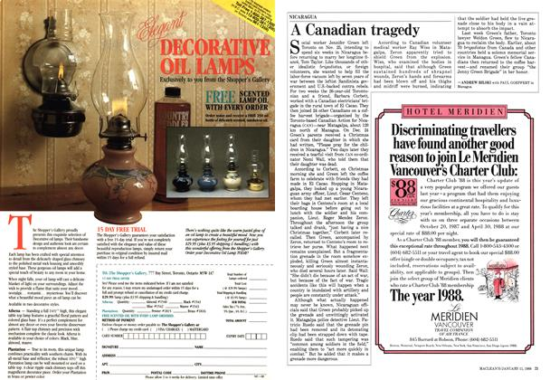 Article Preview: A Canadian tragedy, January 1988 | Maclean's
