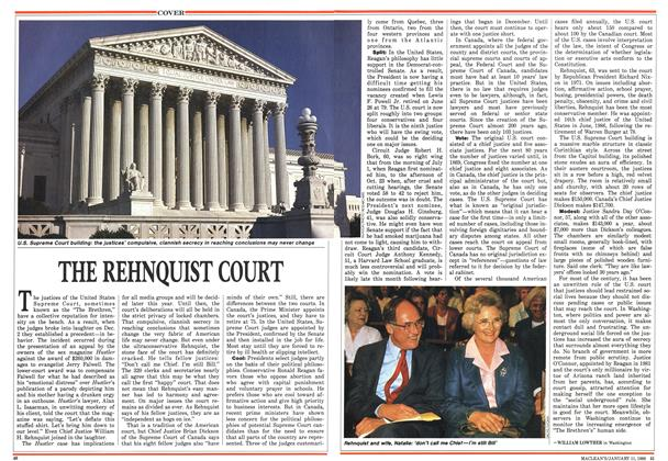 Article Preview: THE REHNQUIST COURT, January 1988 | Maclean's