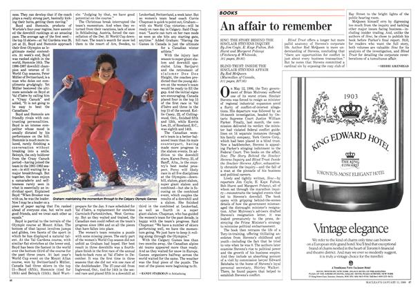 Article Preview: An affair to remember, January 1988 | Maclean's