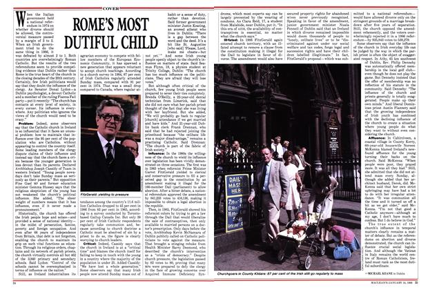 Article Preview: ROME'S MOST DUTIFUL CHILD, January 1988 | Maclean's