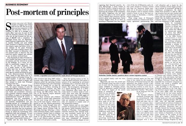 Article Preview: Post-mortem of principles, January 1988 | Maclean's