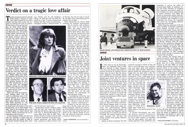 Article Preview: Verdict on a tragic love affair, January 1988 | Maclean's