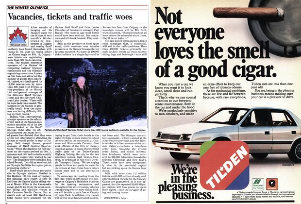 Article Preview: Vacancies, tickets and traffic woes, January 1988 | Maclean's