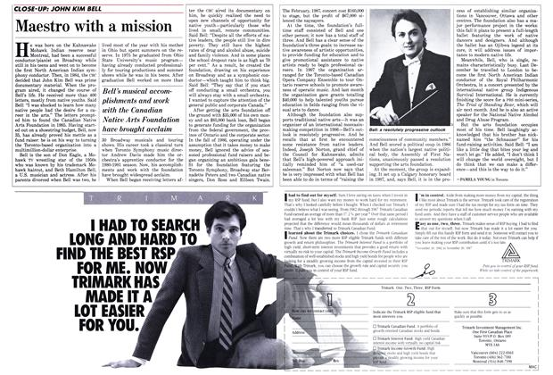 Article Preview: Maestro with a mission, January 1988 | Maclean's
