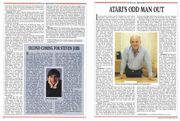 Article Preview: ATARI'S ODD MAN OUT, January 1988 | Maclean's