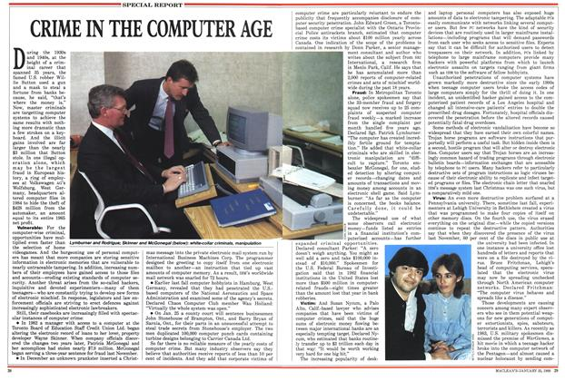 Article Preview: CRIME IN THE COMPUTER AGE, January 1988 | Maclean's
