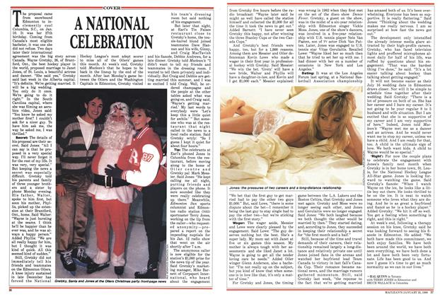 Article Preview: A NATIONAL CELEBRATION, January 1988 | Maclean's