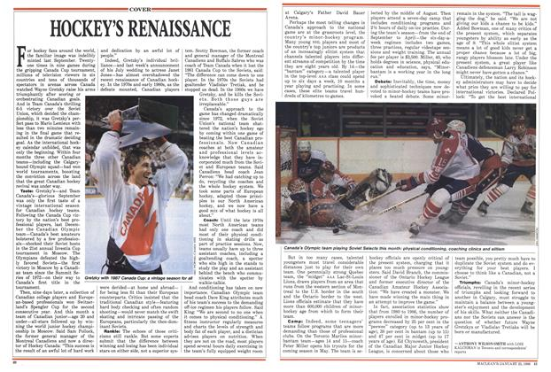 Article Preview: HOCKEY'S RENAISSANCE, January 1988 | Maclean's