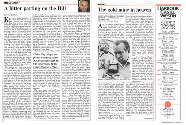 Article Preview: The gold mine in heaven, January 1988 | Maclean's