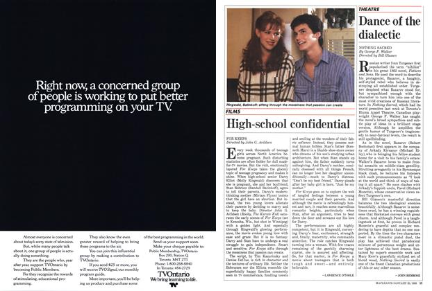 Article Preview: Dance of the dialectic, January 1988 | Maclean's