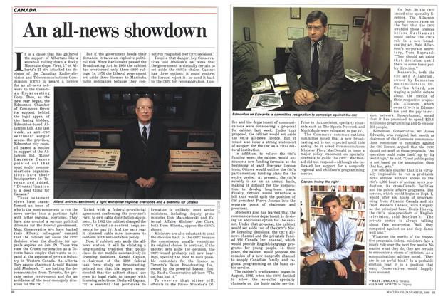 Article Preview: An all-news showdown, January 1988 | Maclean's