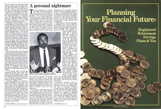 Article Preview: A personal nightmare, February 1988 | Maclean's