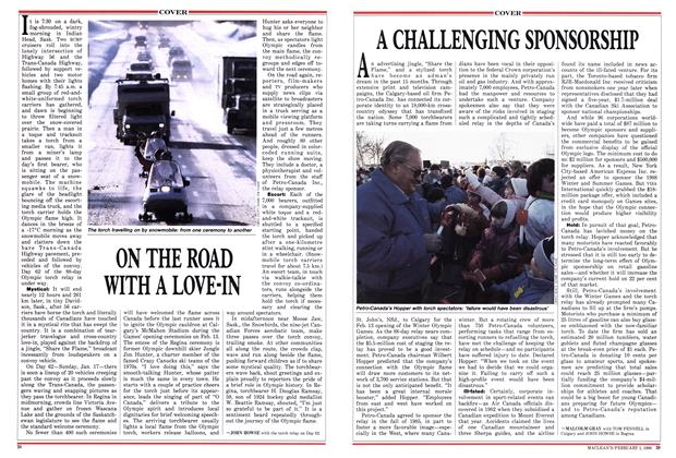 Article Preview: ON THE ROAD WITH A LOVE-IN, February 1988 | Maclean's