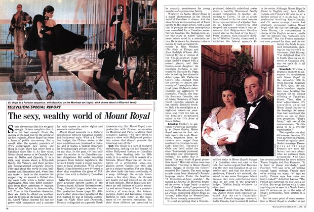 Article Preview: The sexy, wealthy world of Mount Royal, February 1988 | Maclean's