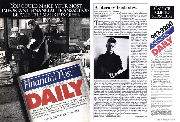 Article Preview: A literary Irish stew, February 1988 | Maclean's