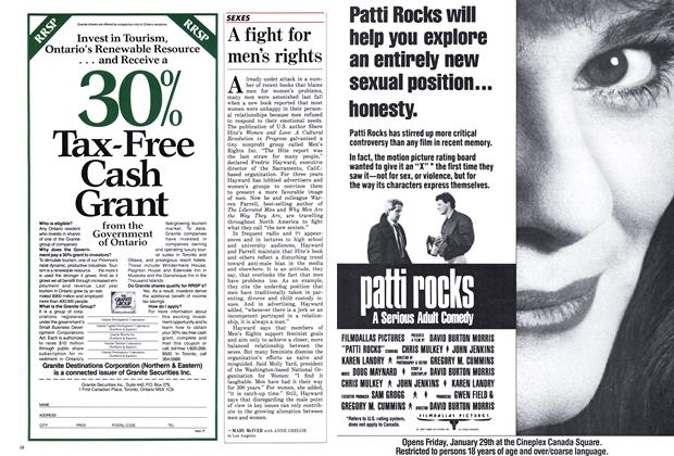 Article Preview: A fight for men's rights, February 1988 | Maclean's
