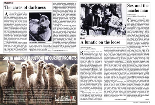 Article Preview: A lunatic on the loose, February 1988 | Maclean's