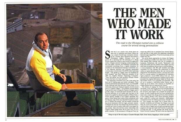 Article Preview: THE MEN WHO MADE IT WORK, February 1988 | Maclean's