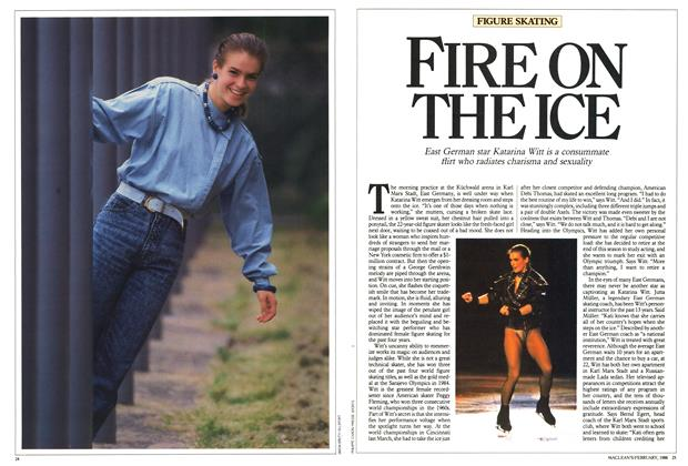 Article Preview: FIRE ON THE ICE, February 1988 | Maclean's