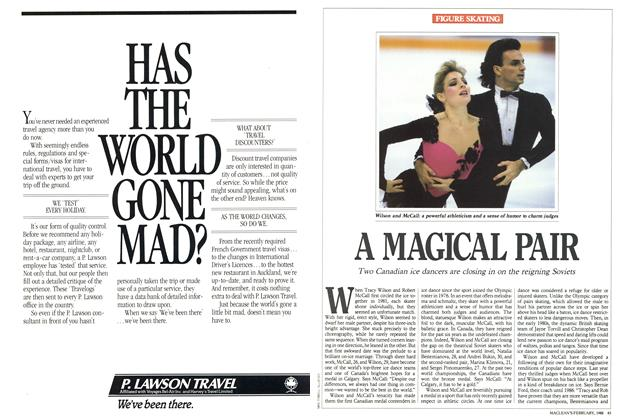 Article Preview: A MAGICAL PAIR, February 1988 | Maclean's