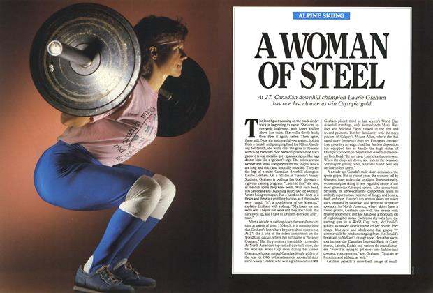 Article Preview: A WOMAN OF STEEL, February 1988 | Maclean's