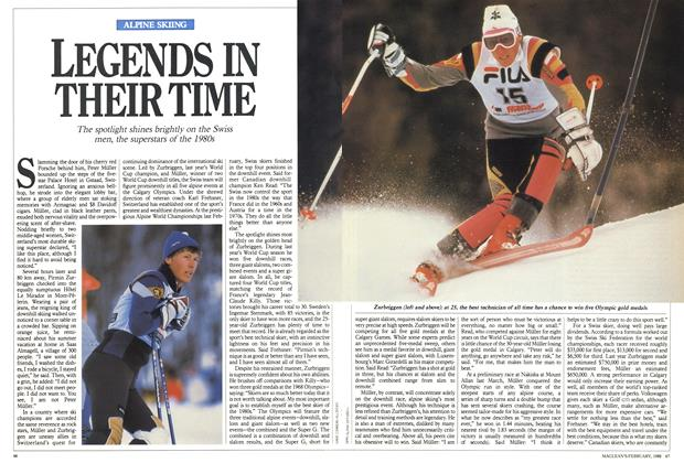 Article Preview: LEGENDS IN THEIR TIME, February 1988   Maclean's