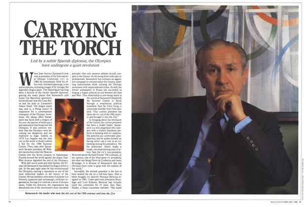 Article Preview: CARRYING THE TORCH, February 1988 | Maclean's