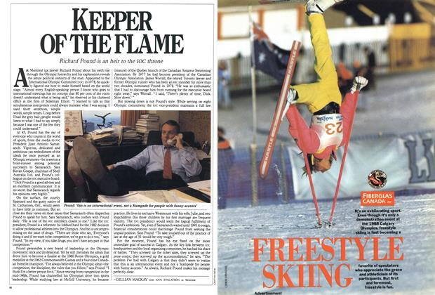 Article Preview: KEEPER OF THE FLAME, February 1988 | Maclean's