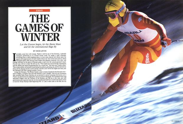 Article Preview: THE GAMES OF WINTER, February 1988 | Maclean's