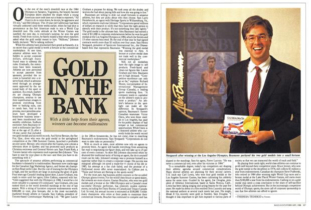 Article Preview: GOLD IN THE BANK, February 1988 | Maclean's